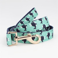 Wholesale metal dog collars for sale - Group buy whale Dog Collar Bow Tie with Metal Bule Big and Small Dog Cat Collar Pet Accessories