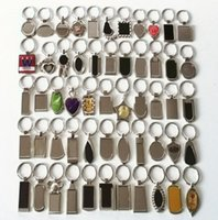 Wholesale blank key rings for sale - Group buy 30 Styles Shape Metal Blank Tag Keychain Creative Car Keychain Business Advertising Personalized Stainless Steel Key Ring EEC2937
