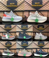 Wholesale natural green clay for sale - Group buy New kanye west v2 reflective Fade carbon Natural israfil Cinder earth zyon oreo Desert Sage Marsh mens women trainers Sneakers Casual Shoes