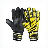 Wholesale good soccer training for sale - Group buy Good Quality Youth Soccer Training Goalkeeper Gloves Adult Goalie Gloves With Finger Spines For Men Children