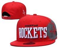 Wholesale rockets cap resale online - 2020 Houston Rockets Men Sport Caps MEN WOMEN YOUTH HOU Tip Off Series FIFTY Adjustable Snapback Basketball Hat Purple