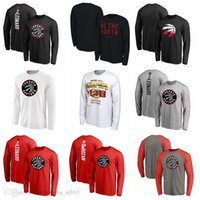 Wholesale new jersey hoodie for sale - Group buy 2020 New Toronto Raptors MenTimberwolves Heathered Earned Edition Showtime Authentic Showtime Therma NBA Performance Hoodie