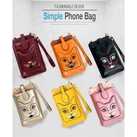 Wholesale lightweight cell phones for sale – best Lightweight Leather Cat Small Crossbody Bag Cell Phone Purse Wallet for Women Shoulder Bags