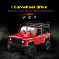 Wholesale remote control boats resale online - 1 MN K RC Car G WD Big Foot Off road Crawler Military Vehicle Model RTR Remote Control Truck Toy