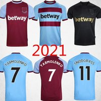 Wholesale west ham united jerseys for sale - Group buy 20 WEST soccer jersey HAM United NOBLE jerseys ANDERSON RICE NOBLE football shirts men