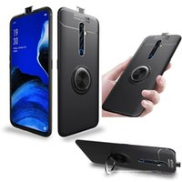 Wholesale soft case oppo for sale – best For OPPO Reno X Zoom Reno2 Z Magnetic Car Ring Soft Silicone Protective Cover For OPPO Realme XT Realme Pro Case