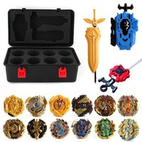 Wholesale beyblade metal fusion 4d toys resale online - 4D Beyblade Burst Toys Arena Beyblades Metal Fighting Explosive Gyroscope Fusion God Spinning Top Bey Blade Blades