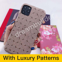 Top Fashion Phone Cases For iPhone 13 Pro Max 12 MINI 11 XR XS XSMax PU leather cover Samsung shell S20 plus S20P S20U NOTE 10 20U with box