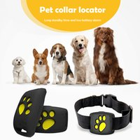 Wholesale mini dog collar for sale - Group buy Portable Mini Pet GPS Traer Dog Cat Collar Locator Location Traing Device Anti lost Collar Dogs Cats Supplies x39x20mm