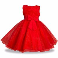 Wholesale santa claus clothes for girls for sale - Group buy 4 years Teenagers Themed Party Dresses For Girls Kids Christmas Santa Claus Long Baby Princess Dress Christmas Clothes jllrAB