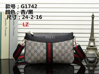 Wholesale designer handbag purses resale online - Best price High Quality handbag tote Shoulder backpack bag purse wallet L777Z G1742