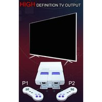 Wholesale 1Set Super Mini High Definition Game Host Built in Classic NES Games Machine Gaming Console with TF Card TV Output