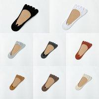 Wholesale pig feet for sale - Group buy children summer five finger shallow mouth invisible Toenail toenail boat toe boat split toe socks pig feet shoes socks five toes csrBD csrB