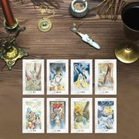 Wholesale 78 Sheets Celtic Dragons Tarot Card Classic Tarot De For Fun Table Cards Game Collection