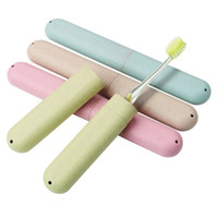 Wholesale packing boards resale online - Travel Accessories Toothbrush Tube Cover Case Cap Fashion Plastic Suitcase Holder Baggage Boarding Portable Packing organizer KKA1437