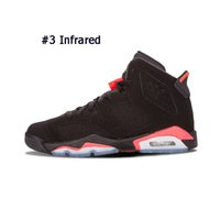 Wholesale mid calf high mens boots resale online - Shoes Infrared s Designer Basketball Dmp Unc Angry Bull Alternate Maroon Oreo Sport Blue High Quality Mens Sports Sneakers Size