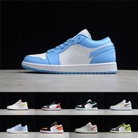 Wholesale mens shoes resale online - Mens Basketball Shoes Low OG s Womens Game Royal Gym Red Banned Bred Chicago Black Toe Court Purple Pine Green UNC Sneakers