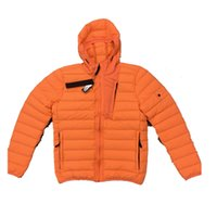 CPTOPSTONEY 20FW heated Winter lightweight hooded down jackets casual trendy Hoodie cap blackpufferjacket mensteddycoat Sleeveless vest