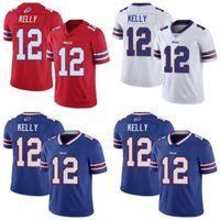 Wholesale elite football jerseys resale online - Buffalo Bills Men Jim Kelly Women Youth Elite Rush Jerseys