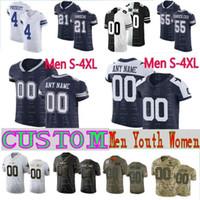 Wholesale elite mens jerseys for sale - Group buy Dallas Cowboys Custom Elite Mens Women Kids Ezekiel Elliott Dak Prescott DAL Jerseys E Smith Travis Frederick Witten Tony Romo