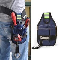 Repairing Tools Storage Bag Electrician Hand tools Waist Belt Bag Utility Pouch Pocket for household accessories