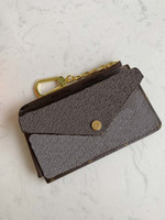 RECTO VERSO card holders top quality men wallet with zipper coin purse new designer women small wallet