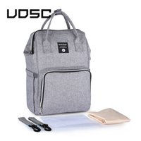 Wholesale korean backpack bag for ladies resale online - UOSC Fashion Backpack Women Leisure Back Pack Korean Ladies Knapsack Casual Travel Bags School Girls Classic Bagpack For Mummy LJ200928