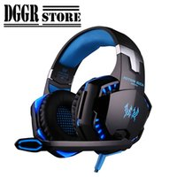 Wholesale apple mouse pads resale online - KOTION EACH G2000 Stereo Gaming Headset Bass Headphones For Computer Lights Deep Bass Gamer Earphone With Mic Or Mice Mouse Pads