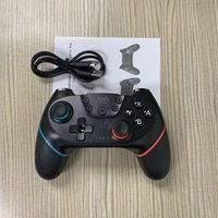 Wholesale controllers for the nintendo switch for sale - Group buy Top Bluetooth remote wireless vibration axis motion sensing controller for the Gamepad handle joystick for Nintendo Switch Pro console