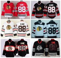 Wholesale blackhawks jersey black skull for sale - Group buy 2017 Chicago Blackhawks Jerseys Hockey Patrick Kane Jersey Stadium Series Winter Classic Black Ice Skull Red White Green