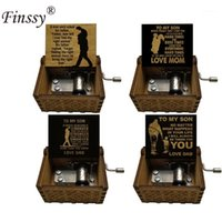 Wooden Engraved Cranked Music Box Gift Mom//Dad To Daughter//Son UK Harry Potter