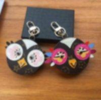 Wholesale birds keychains resale online - Love Bird Keychain Key Bag Mini Coin Bag Couple Hanging Cute Old Flower Animal Car Pendant