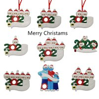 Wholesale Christmas Decorations DIY name greetings personalized Christmas tree Ornament Creative Festivals Gift DHL shipping
