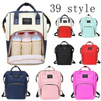 Wholesale nursing bags resale online - Mummy Maternity Large Capacity Nappy Travel Backpack Nursing for Care Women s Fashion Diaper Baby Bag C1008