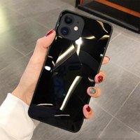 Wholesale iphone diamond pouch online – custom 2020 latest Fancy Drop Proof diamond case for iphone plus sparkle luxury shinning back cover mirror rhinestone cover