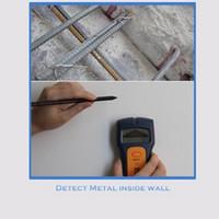 Wholesale scanner live resale online - Stud Wood Wall Center Finder Scanner Metal AC Live Wire Rebar Detector