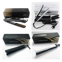 Wholesale aluminum drops resale online - EPACK PC V Gold Max Hair Straightener Classic Professional styler Fast Hair Straighteners Iron Hair Styling Tool PLATINUM DROP SHIPPING