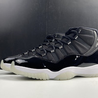 Air 11 25th Anniversary CT8012-011 11s XI Black White Women Men Kicks Sports Shoes Sneakers Trainers Best Quality With Original Box