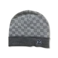 Wholesale cuffed knit hat resale online - Autumn And Winter Fashion Popular Real Fur Pom pom Knitted Beanies Good Quality Winter Warm Skull Hats Cuff Beanie Caps For Men s