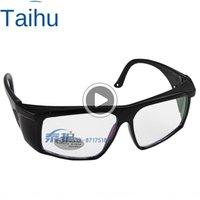 Wholesale riding glasses for men resale online - JP60 Anti ultraviolet Goggl Glass Glass es goggles for men and women riding transparent protective white coated glass dust proof eye mask