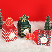 Wholesale apple bake resale online - New Christmas Decorations Apple Box Christmas Eve Apple Packaging Gift Box Christmas Packaging Box Candy Boxes EWA1989
