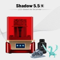 3d printer designs 2021 - UV Photocuring Resin LCD 3D Printer with Double Z axis Liner Rail Design 2K 3.5 Inch LCD Screen Air Filter Facility1