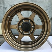 Wholesale toyota car auto parts for sale - Group buy Auto car alloy wheels forged rims vehicle casting tyre for HONDA TOYOTA KIA racing cars TE37 quot TUV x139 OEM parts