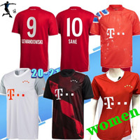 Wholesale uniforms shirts quick dry for sale - Group buy Thai Bayer PAVARD DAJAKU Soccer jersey men women LEWANDOWSKI MULLER jersey HERNANDEZ th Kids kit Football shirt Men uniforms