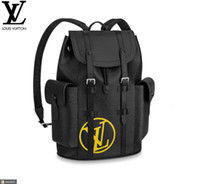 Wholesale rolling backpacks resale online - M55138 CHRISTOPHER BACKPACK PM MEN FASHION BACKPACKS BUSINESS BAGS TOTE MESSENGER BAGS SOFTSIDED LUGGAGE ROLLING BAG