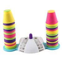 Wholesale toddlers games resale online - Colorful Stacking Nesting Cups Cups Fun Color Learning Toy Great Toy for Baby Toddler Kids Preschool Game