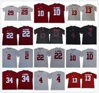 Wholesale alabama stitched jerseys for sale - Group buy Alabama Crimson Tide FITZPATRICK Tu Tagovailoa Jerry Jeudy Joe Namath Najee Harris McCARRON Damien HARRIS stitched College Jersey