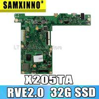 Wholesale X205TA Motherboard Z3537F G SSD G For Asus X205TA X205TAW Laptop motherboard Mainboard test OK