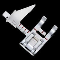 Wholesale sewing machines janome for sale - Group buy Adjustable Guide Sewing Machine Accessories Presser Feet Foot For Juki Janome Low Shank Singer Brother Presser Foot Sewing Ruler bbywnd