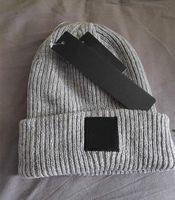 Wholesale knit beanie for men resale online - Fashion Unisex Spring Winter Hats for Men women Knitted Beanie Wool Hat Man Knit Bonnet top quality Beanies hip hop Gorro Thicken Warm Cap